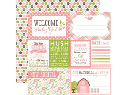 BJGT79002 Welcome Baby Girl