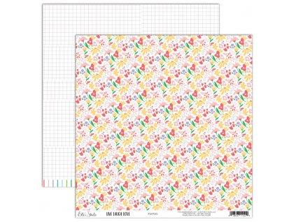 EllesStudio LiveLaughLove 12x12Paper Floral LLL001 1