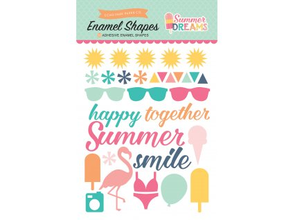 DR126061 Summer Dreams Enamel Shapes F