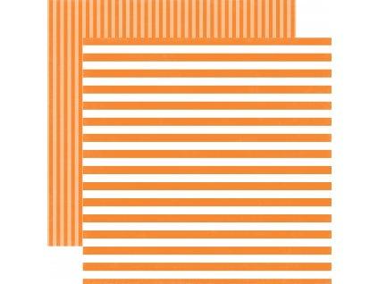 DS17079 Tangerine Tango Stripe