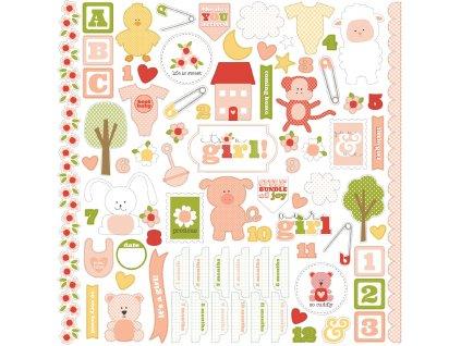 CBIG51014 Its A Girl Sticker