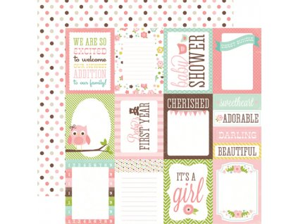 BJG45006 Girl Journaling Cards