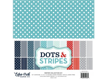 DS170163 Dots Stripes WINTER Cover