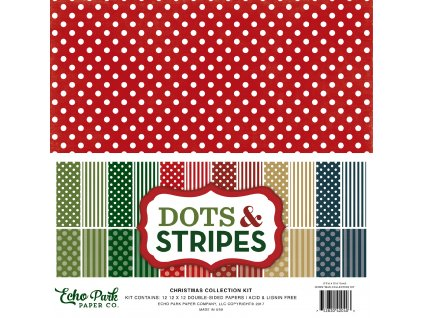 DS170143 Dots Stripes Christmas Cover