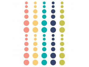 10098 domestic bliss enamel dots