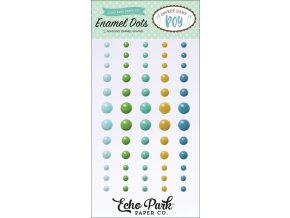 SBB143028 Sweet Baby Boy Enamel Dots F
