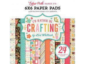 IBC138023 Id Rather Be Crafting Paper Pad Cover 58792.1499361167.1000.1000