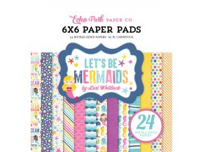 LBM110023 Lets be mermaids Paper Pad Cover 53363.1459449157.1000.1000