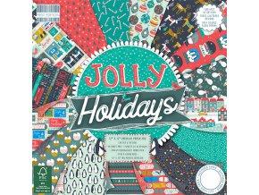 Jolly Holidays 12x12 (Typ balení Sada 1x každý design)