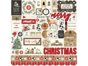 CBCH89014 Christmas Element Sticker