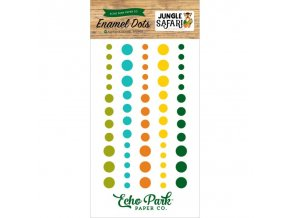 11591 jungle safari enamel dots