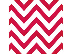 12008 1 diy boutique red chevron dots