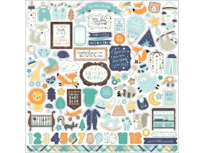 BB172014 Hello Baby Boy Sticker
