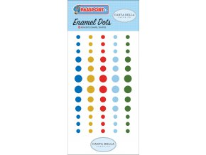 CBPAS84028 Passport Enamel Dots