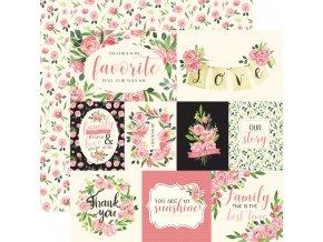 CBBO98005 Sweet Pea Journaling Cards