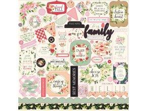 CBBO98014 Botanical Gardens Sticker Sheet