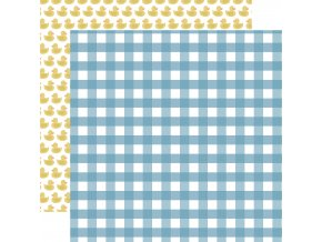BAB203006 Boy Gingham