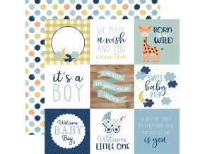 BAB203007 4x4 Journaling Cards
