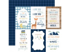 BAB203011 4x6 Journaling Cards