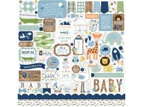 BAB203014 Baby Boy Element Sticker