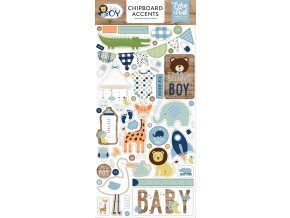 BAB206021 Baby Boy Chipboard Accents