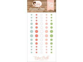 BAG202028 Baby Girl Enamel Dots