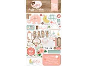 BAG202066 Baby Girl Puffy Stickers
