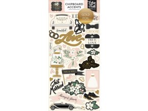 WD181021 Wedding Day Chipboard Accents Gold Foiled 50434.1546870087.1000.1000