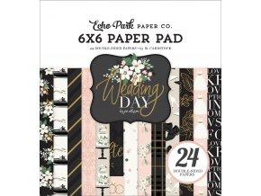 WD181023 Wedding Day 6x6 Paper Pad