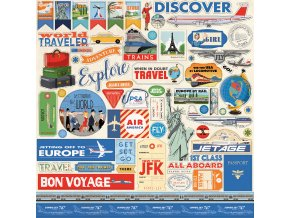CBPAS84014 Passport Sticker Sheet