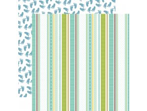 SBB143006 Baby Boy Ribbons