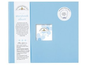Bubble Blue Storybook Album 12x12