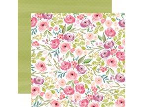 CBF117007 Bright Large Floral