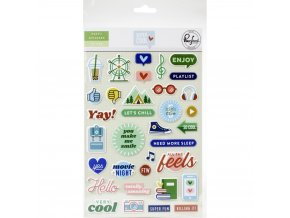 Super Cool puffy stickers