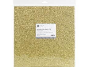 Gold glitter paper