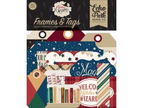 WAW217025 Witches & Wizards Frames & Tags BACK