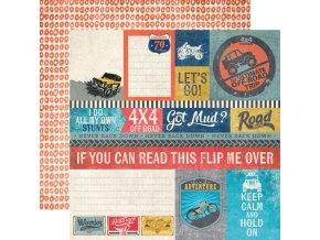 2545 off road journaling cards