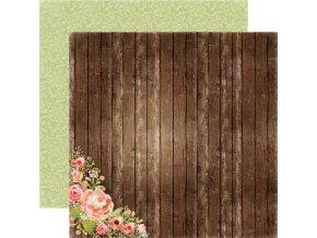 CBRE41002 Wood Floral