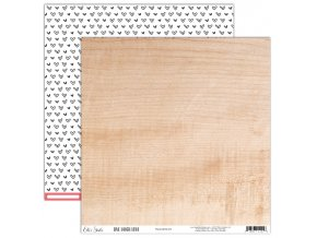 EllesStudio LiveLaughLove 12x12Paper Woodgrain LLL002 2