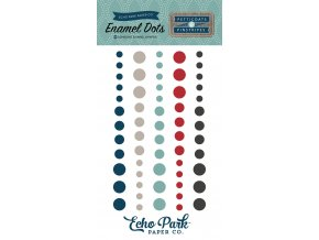PS104028 Pinstripes Enamel Dots F