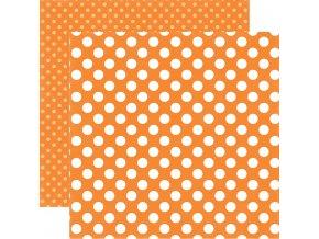 DS17078 Tangerine Tango Dot