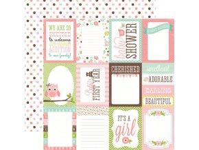 BJG45006 Girl Journaling Cards