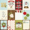 10005 1 classic christmas 3x4 journaling cards foil