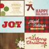 10011 classic christmas 4x6 horizontal elements foil