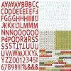 10038 classic christmas alphabet stickers