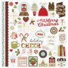 10044 classic christmas stickers