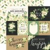 CBBO98002 White Rose Journaling Cards
