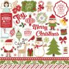 ILC114014 I Love Christmas Element Stickers