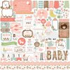 BAG202014 Baby Girl Element Stickers
