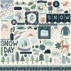 CBSMF108014 Snow Much Fun Element Sticker